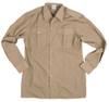 Belgian Army Long Sleeve Khaki Service Shirt from Hessen Surplus