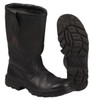 German Fireman's Black Leather Jack Boots from Hessen Antique