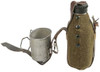 Romanian Army Canteen with Felt Cover and Cup from Hessen Antique