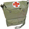 Czech Army First Aid OD Shoulder Bag from Hessen Antique