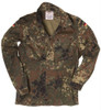 Bundeswehr Light Weight Flecktarn Field Shirt from Hessen Surplus