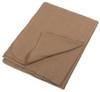 European Military Khaki Wool Blend Blanket from Hessen Antique