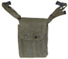 French OD Canvas MAT 49 Magazine Pouch With Strap from Hessen Antique