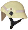 Modern German Fireman's Helmet -  Half Face Shield from Hessen Antique