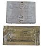 German Esbit Folding Stove W/ Fuel - used from Hessen Antique