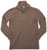 German Original Brown Tricot Shirt  - Used from Hessen Surplus