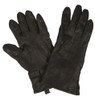 Dutch Black Leather Gloves from Hessen Antique