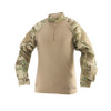T.R.U. 1/4 ZIP COMBAT SHIRT - Multicam from Hessen Tactical