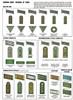 Enlisted Shoulder Boards on Field-Grey wool