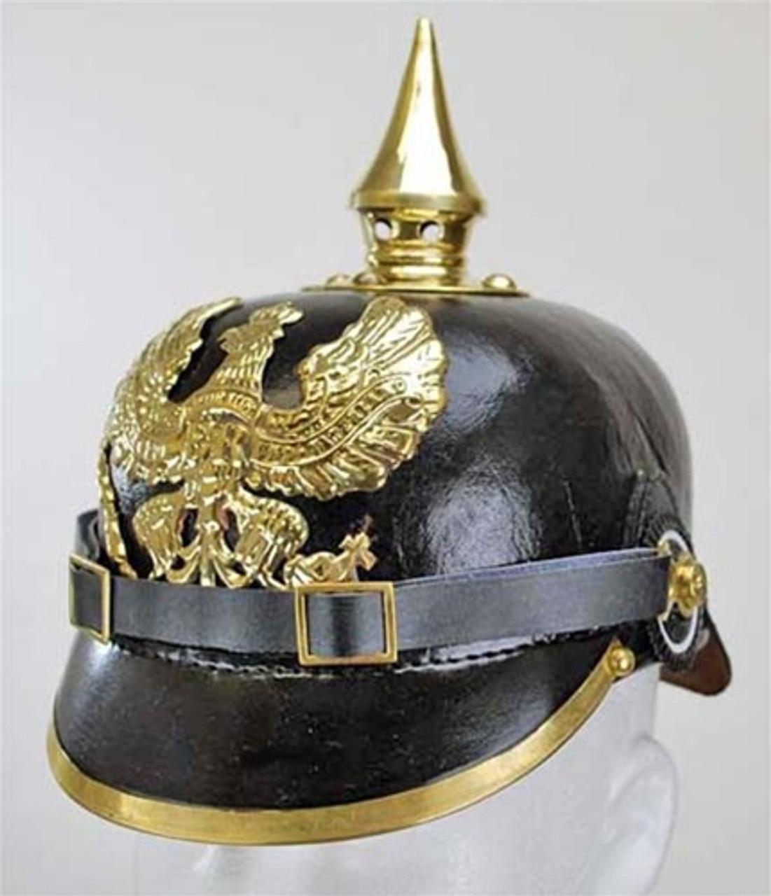 Reproduction German Pickelhaube (Spiked Helmet) from Hessen Antique