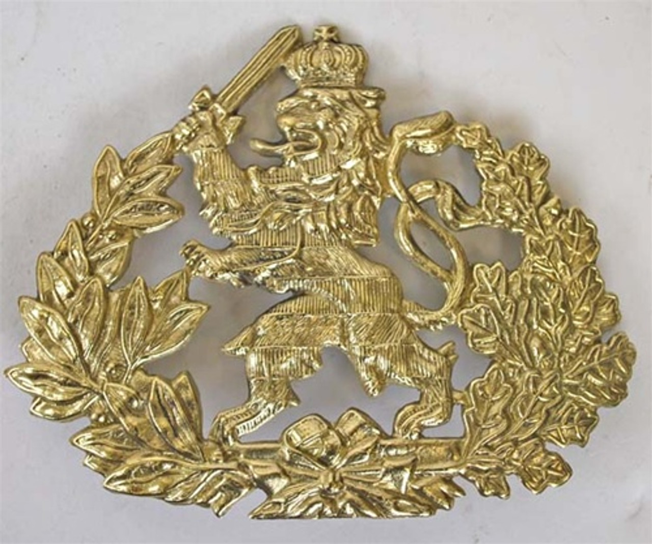 Hesse Pickelhaube Plate from Hessen Antique