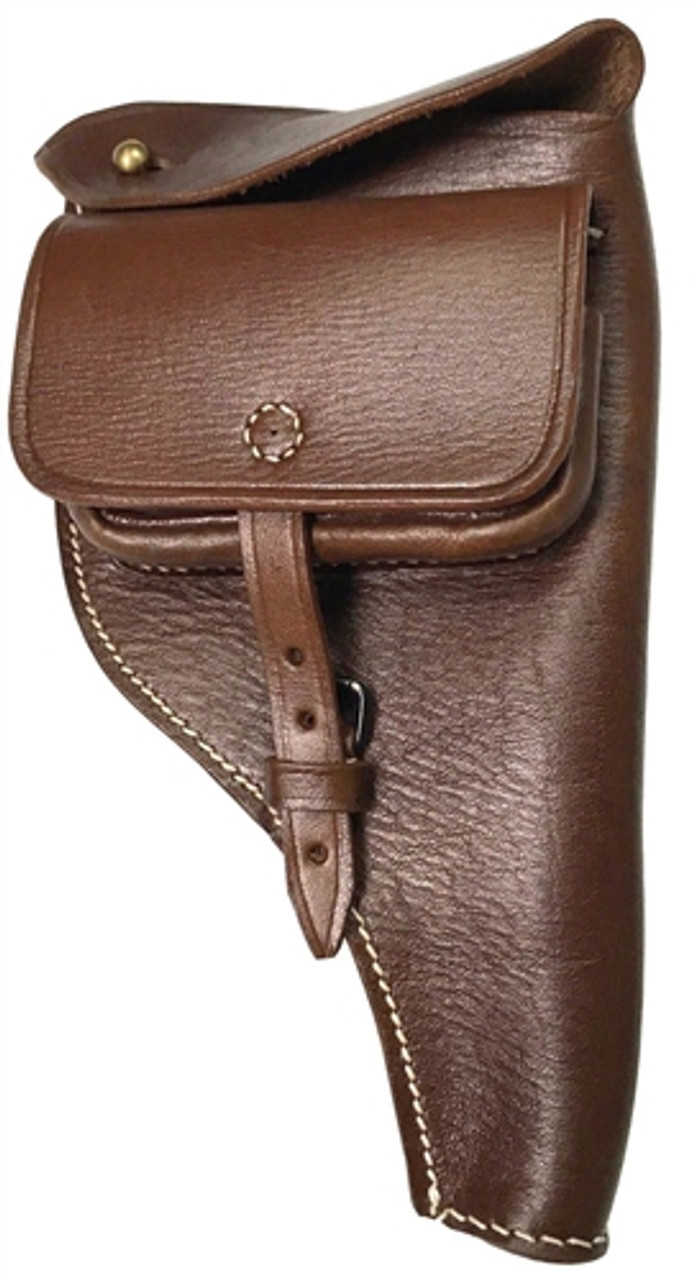 WWI Reichs Revolver Leather Holster - 1883 from Hessen Antique