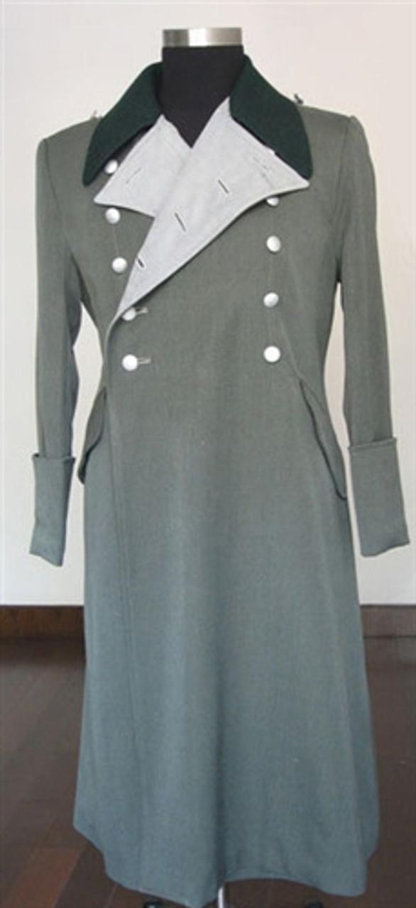 SS General Officer Gabardine Greatcoat from Hessen Antique