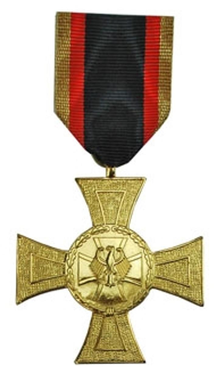 Bundeswehr Cross Of Honor - Gold from Hessen Antique