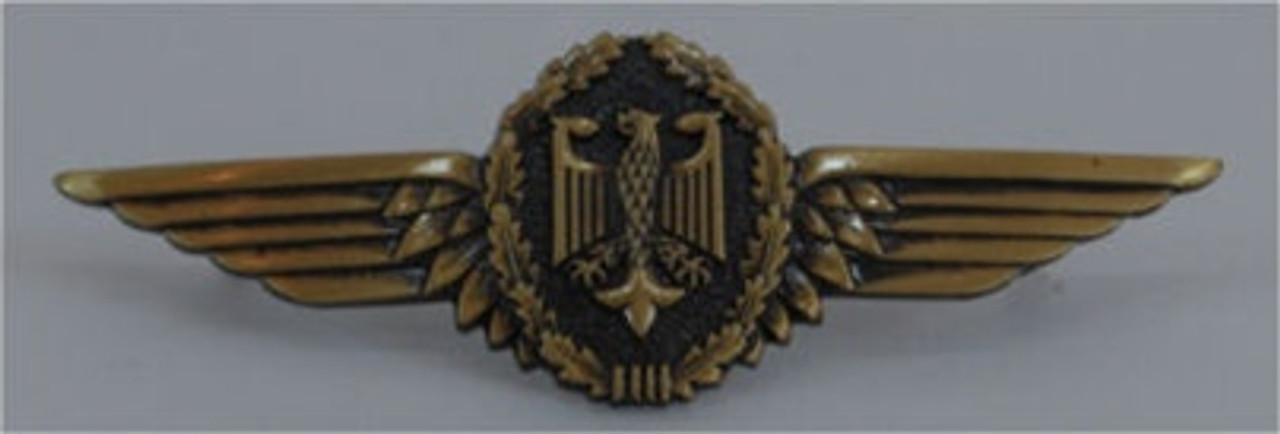 Bundeswehr German Army Pilot Wings from Hessen Antique.  Assmann quality