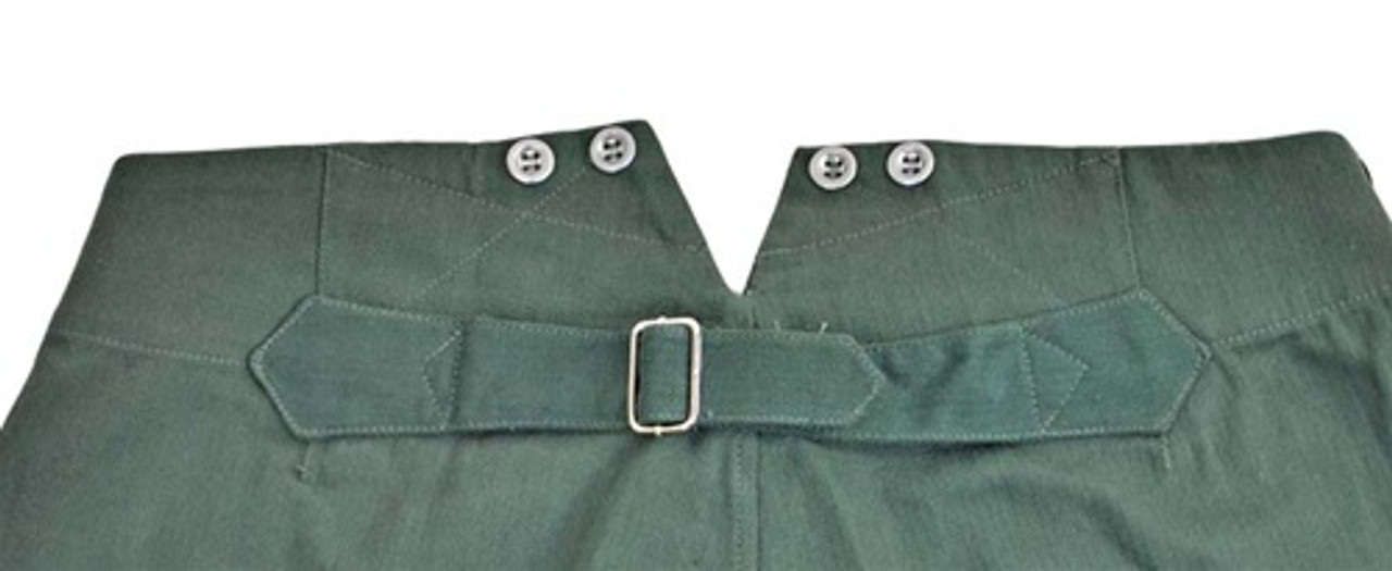 German HBT Drill Trousers from Hessen Antique