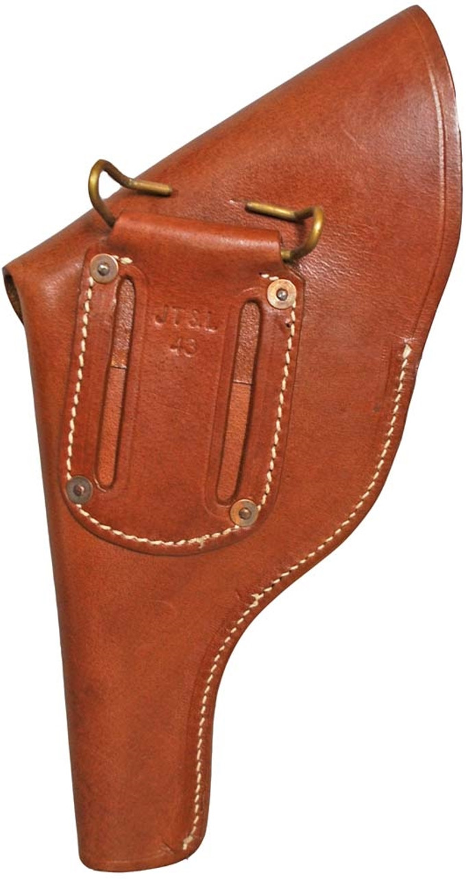 U.S. GI WWII S&W Victory Holster from Hessen Antique