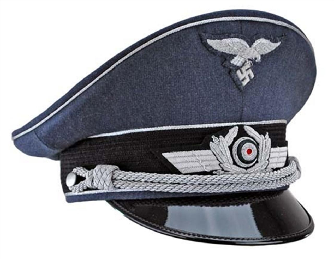 Luftwaffe Officer Visor Cap from Hessen Antique