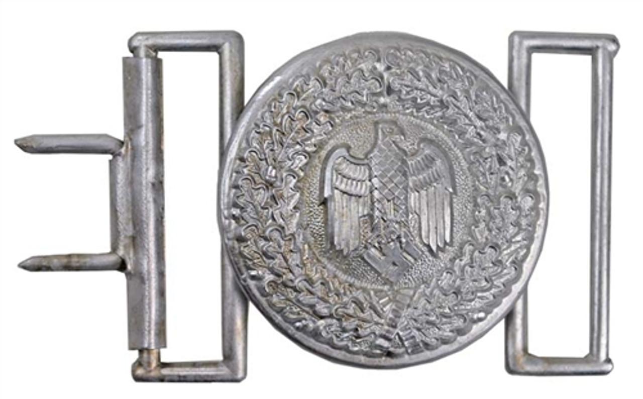Wehrmacht Officer's Buckle from Hessen Antique