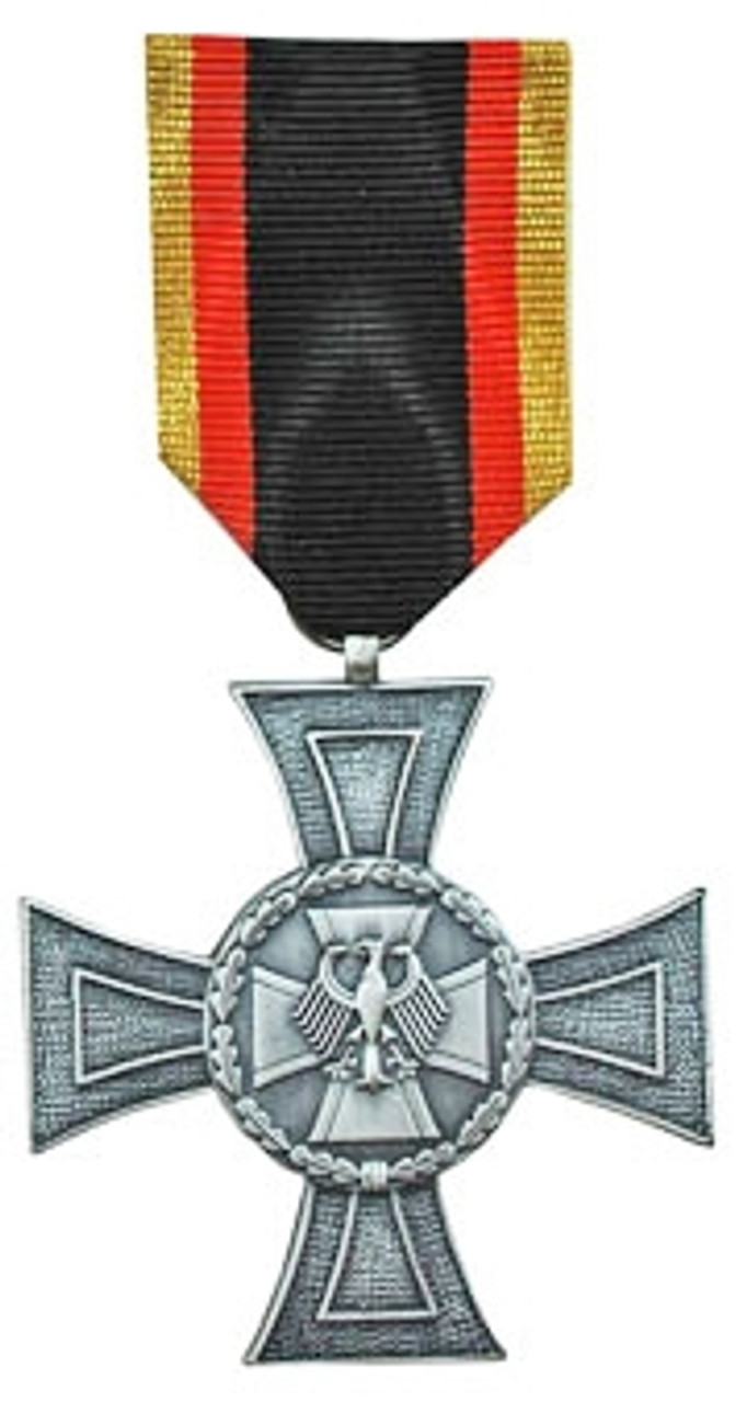 Bundeswehr Cross Of Honour - Silver from Hessen Antique
