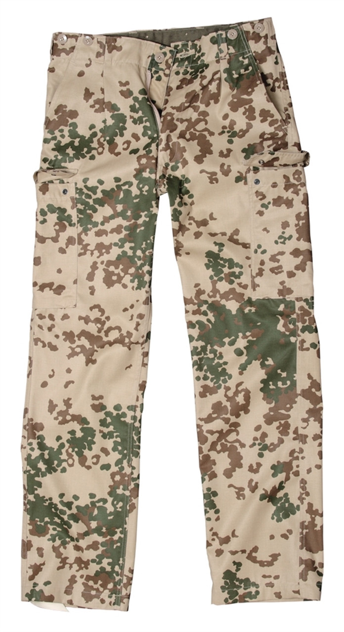 Bundeswehr Flectarn Tropical Field Trousers from Hessen Antique