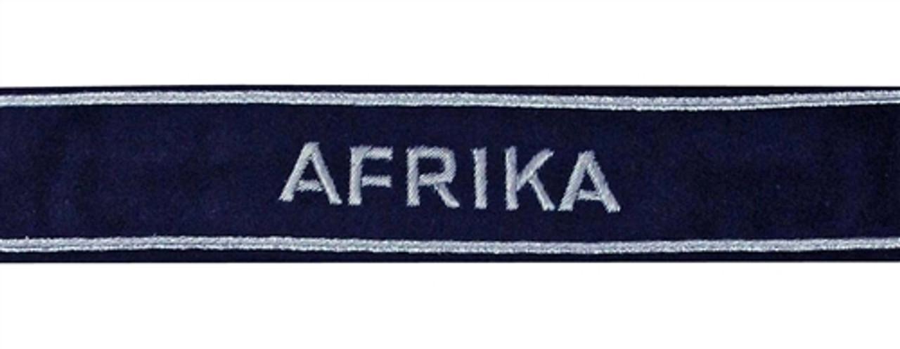 LW AFRIKA Cuff Title from Hessen Antique