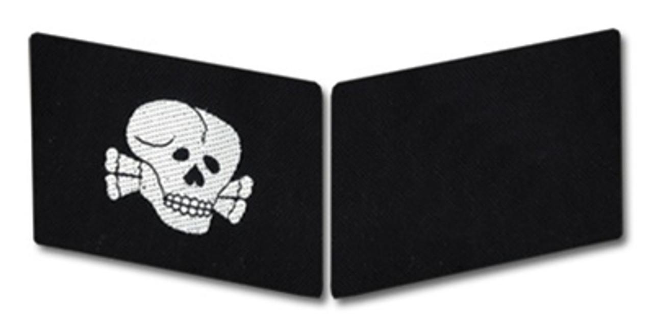 SS Totenkopf Enlisted Collar Tabs - BeVo