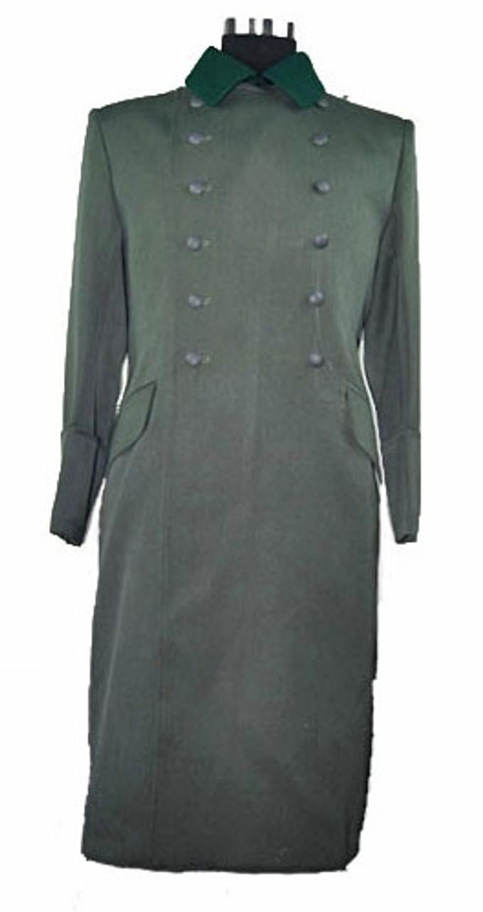 Heer Officer Gabardine Greatcoat from Hessen Antique