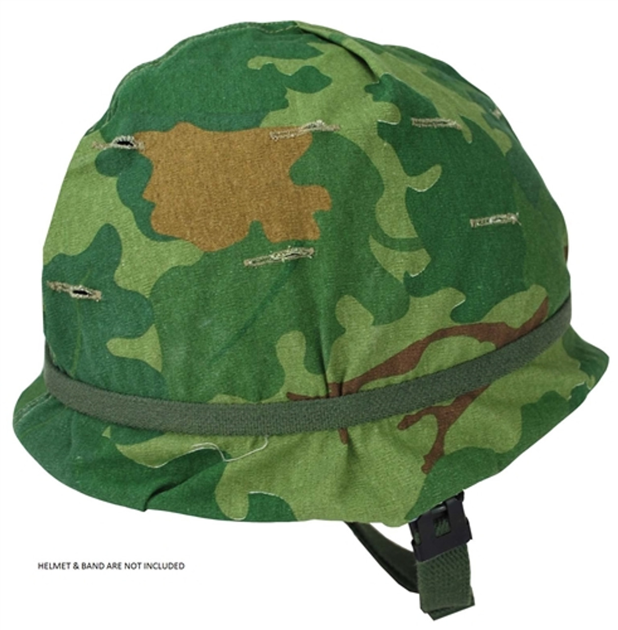 Repro Vietnam Era Mitchell Pattern Helmet Cover from Hessen Antique