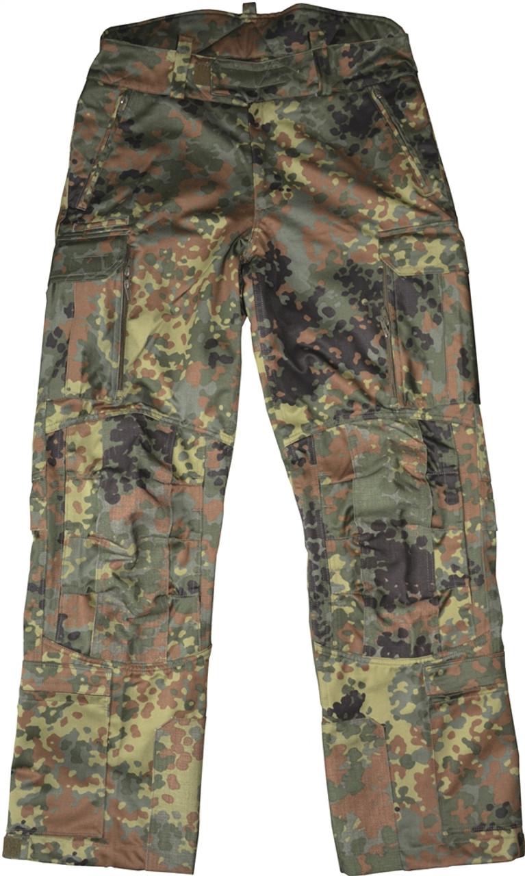 Köhler Sniper Pants - Flecktarn from Hessen Antique