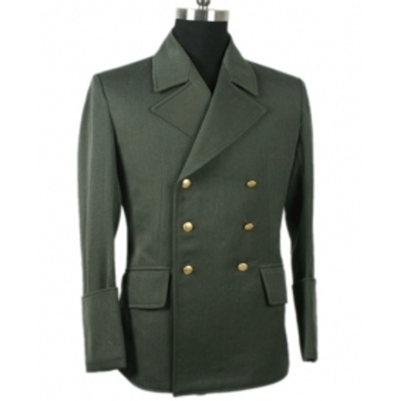 Führer's Grey Gabardine Jacket Feldgrau in Gabardine Twill from Hessen Antique