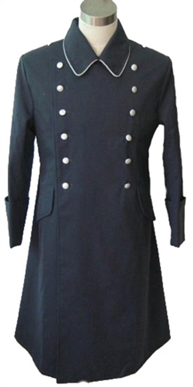 Luftwaffe Officer Gabardine Greatcoat from Hessen Antique