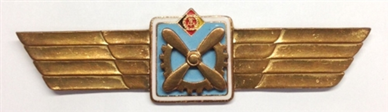 Classification clip for flight engineer Technical personnel of the Air Force from Hessen Antique