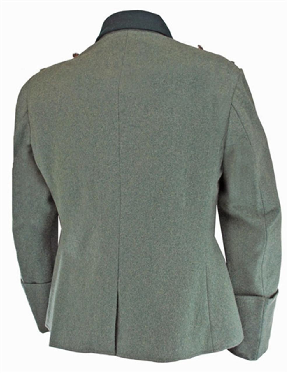 German Officer Combat Tunic in Field-grey wool from Hessen Antique