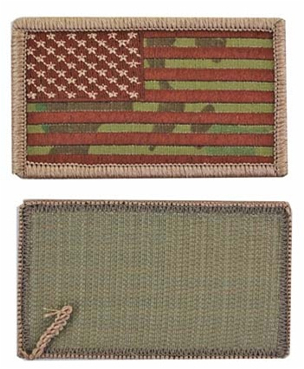 OCP U.S. Flag Patch with Hook Fasteners from Hessen Antique