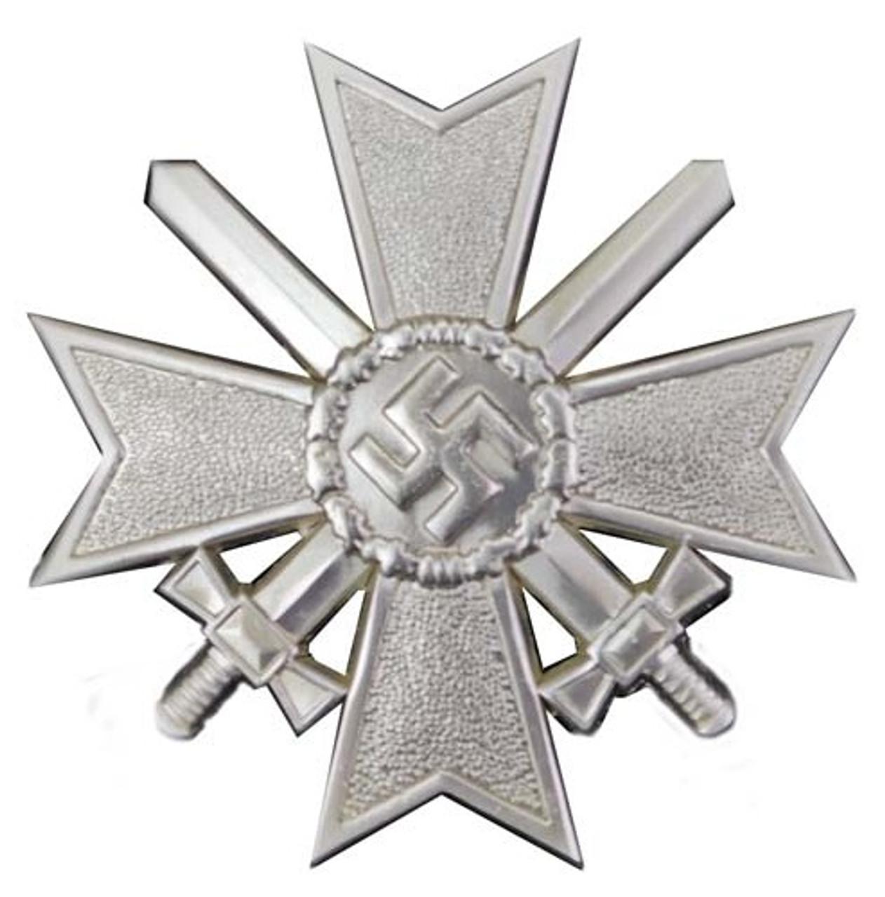 WWII War Merit Cross Medal With Swords from Hessen Antique