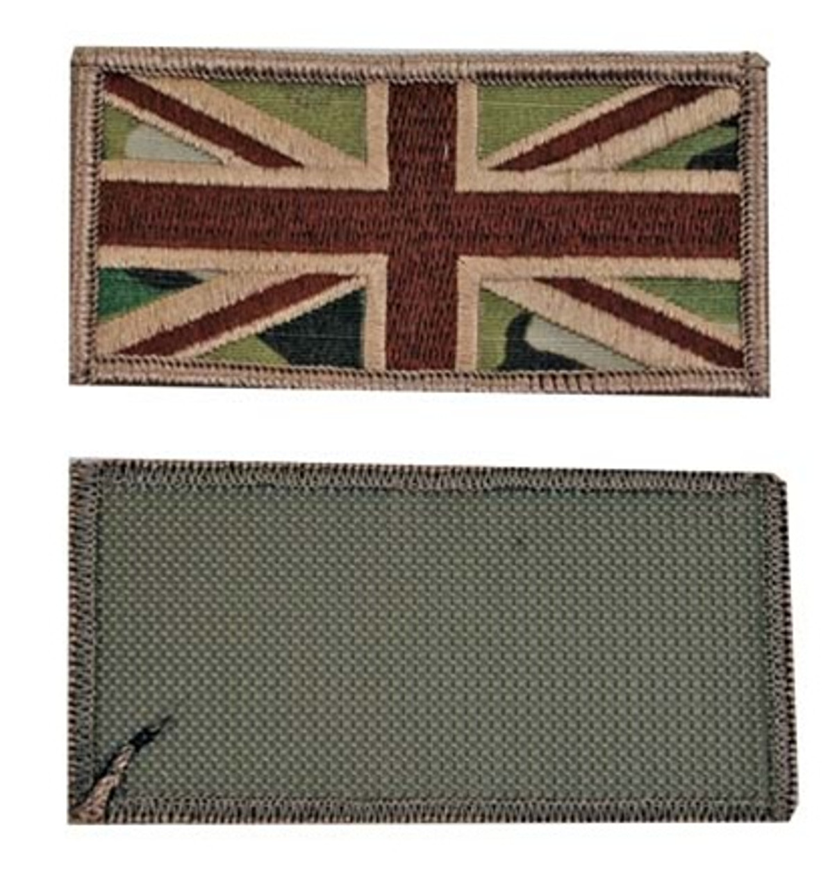 MultiCam British Flag Patch with Hook Fasteners from Hessen Antique