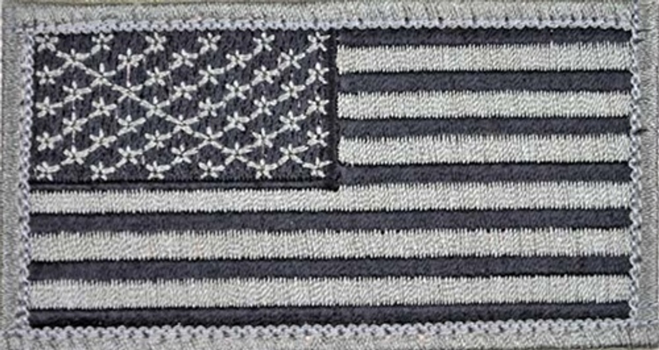 US Flag Embroidered Patch (Subdued) from Hessen Tactical