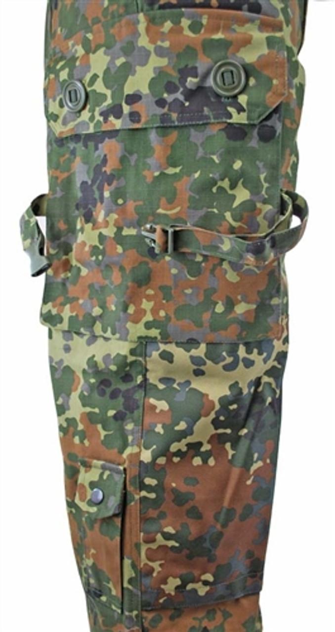 Flecktarn Commando Pants - Ripstop from Hessen Antique
