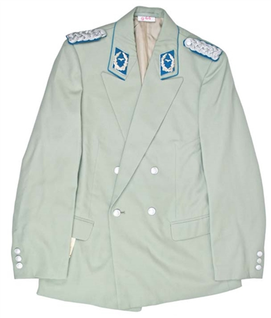 E. German Air Force Officer's Parade Jacket  With Insignia