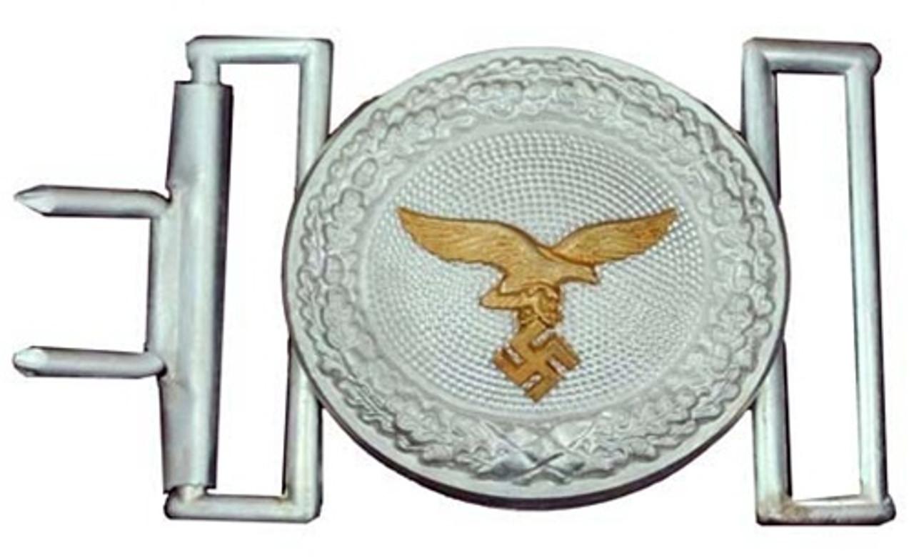 Luftwaffe Officer's Buckle from Hessen Antique