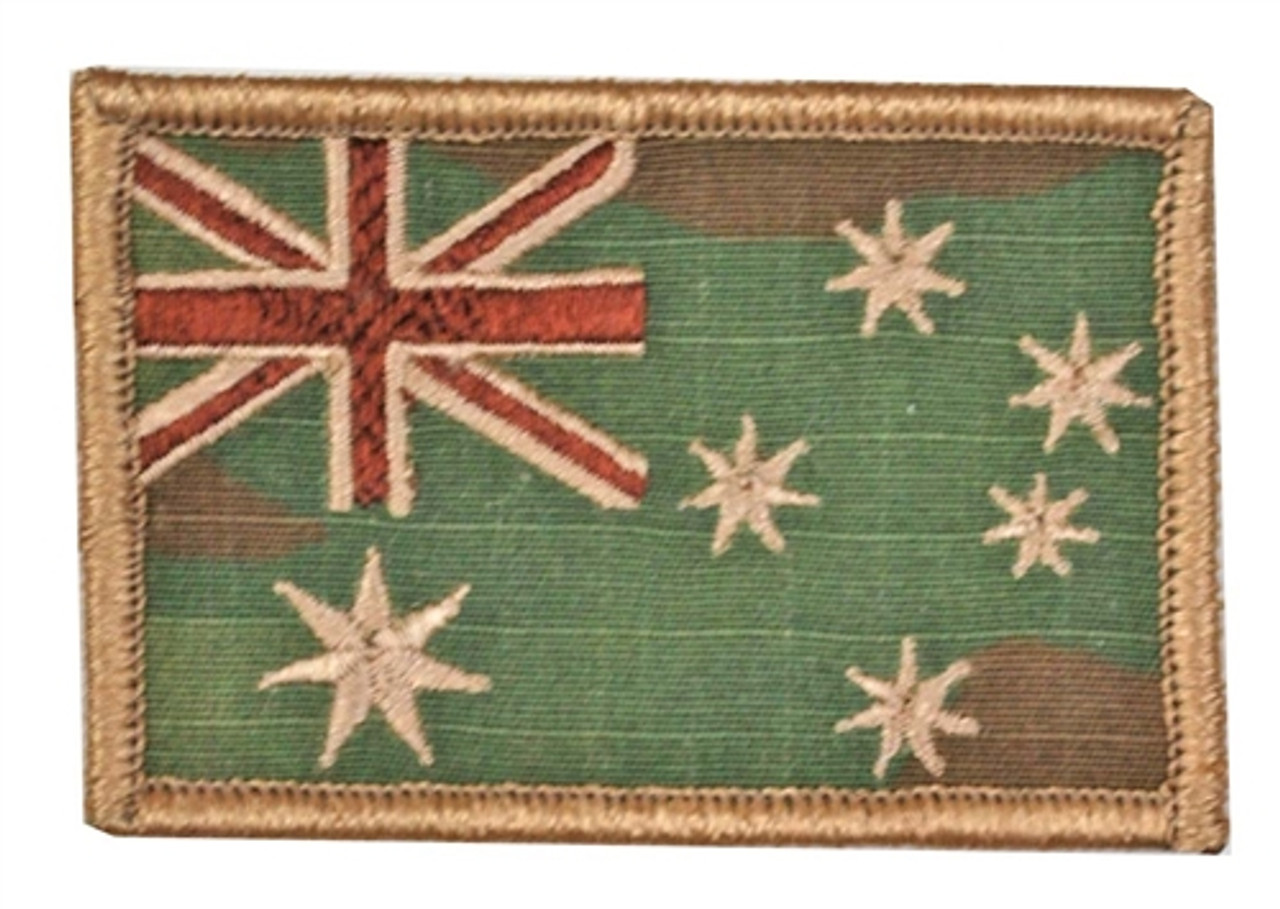 MultiCam Australian Patch with Hook Fasteners from Hessen Antique