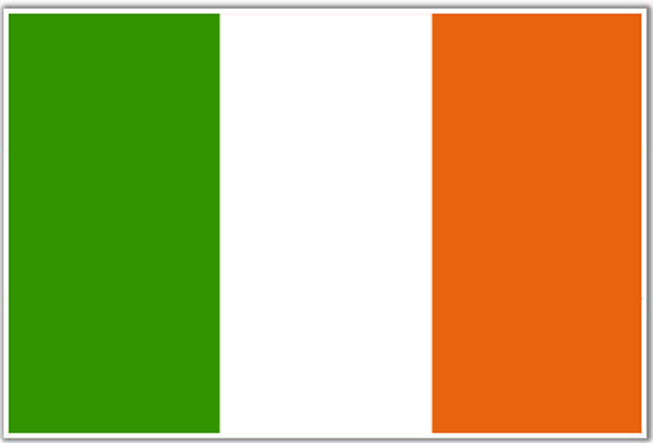 National Flag Of Ireland from Hessen Antique