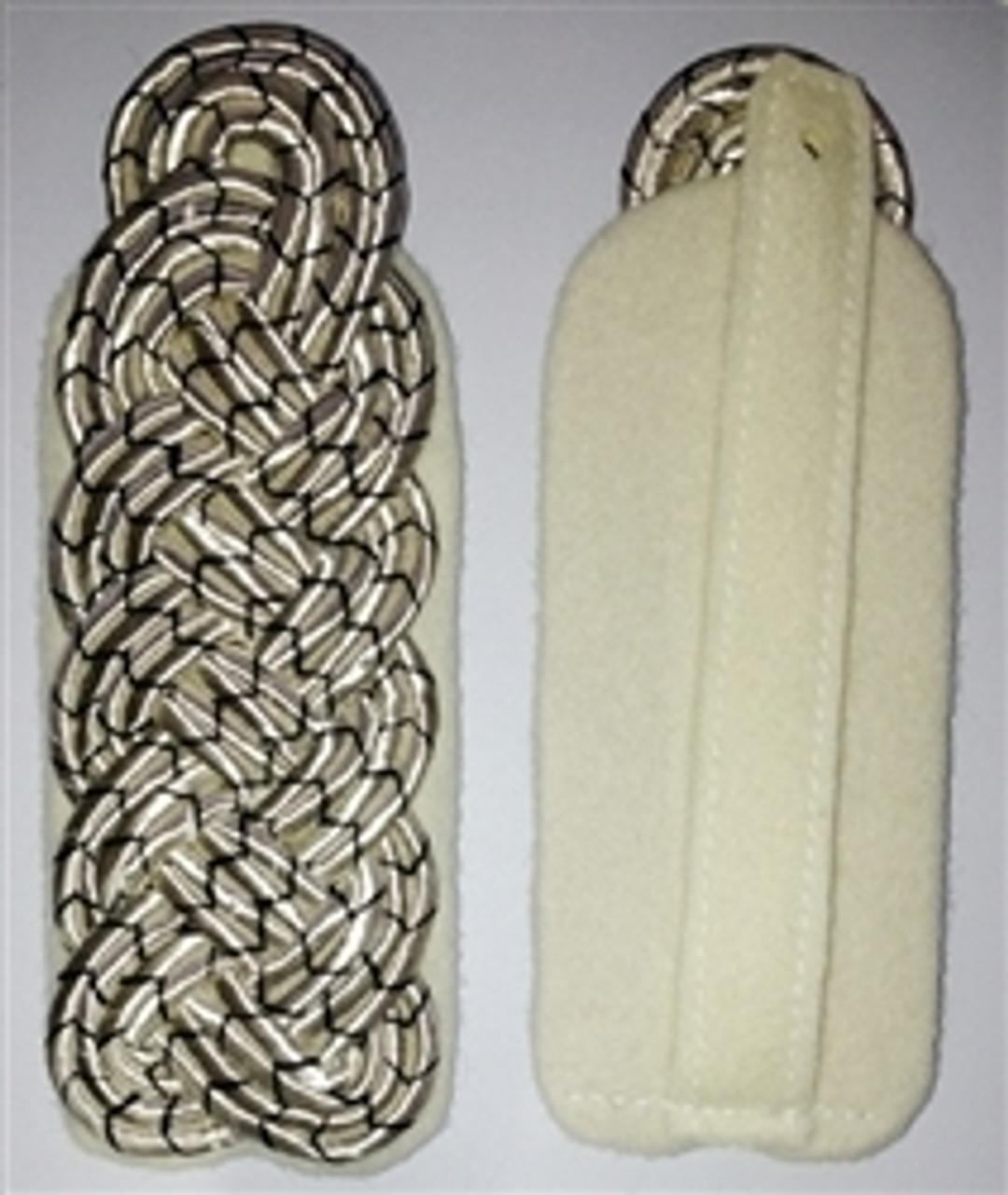 Slip-on Pattern Prussian Major Shoulder Boards - German Made from Hessen Antique