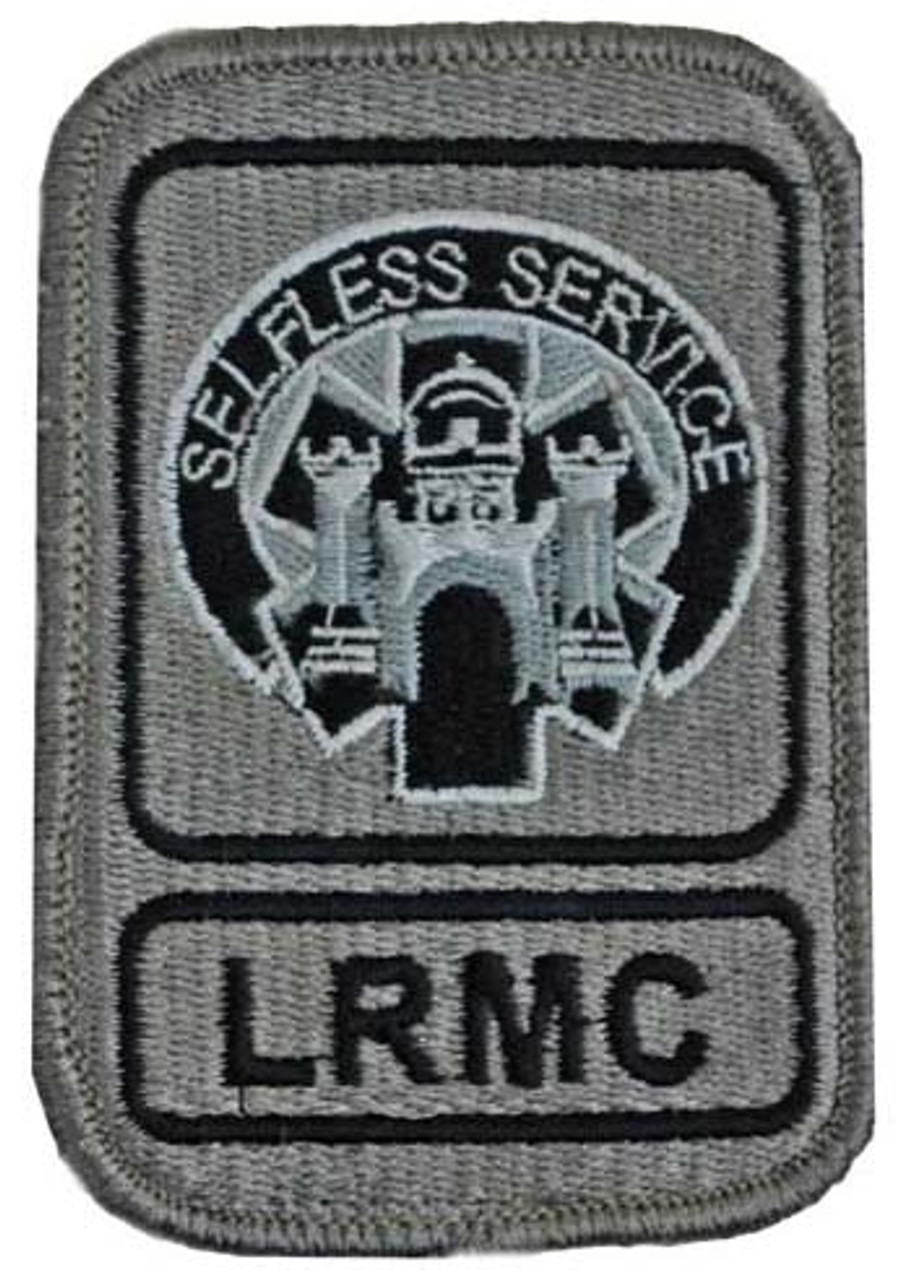 LRMC Patch with Hook Fasteners from Hessen Antique