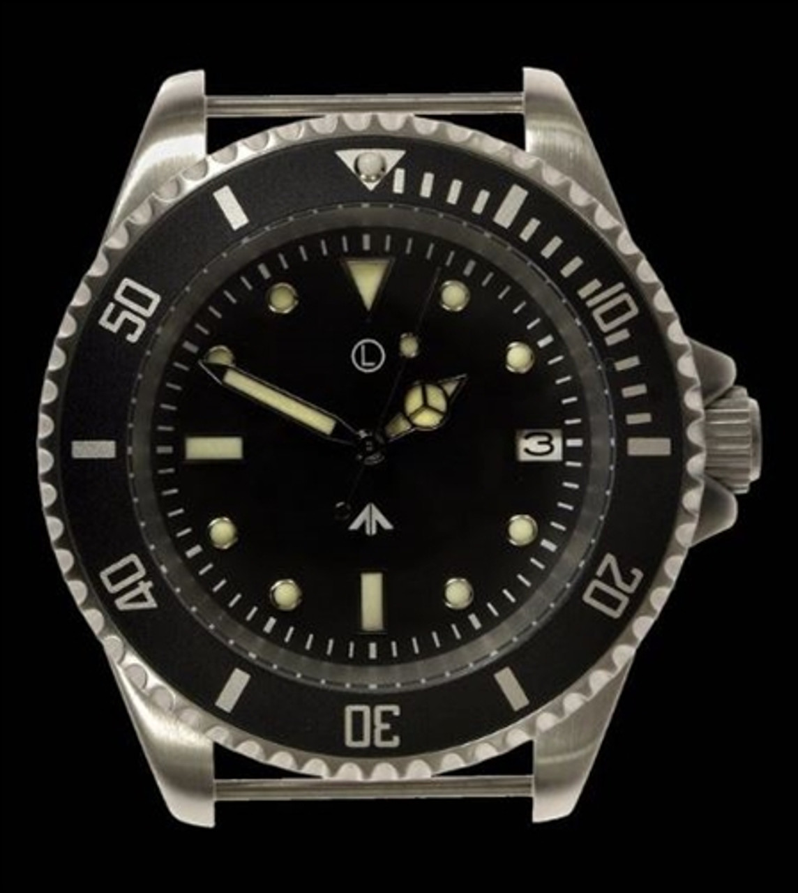 MWC 300m Stainless Steel Quartz Military Divers Watch from Hessen Militaria