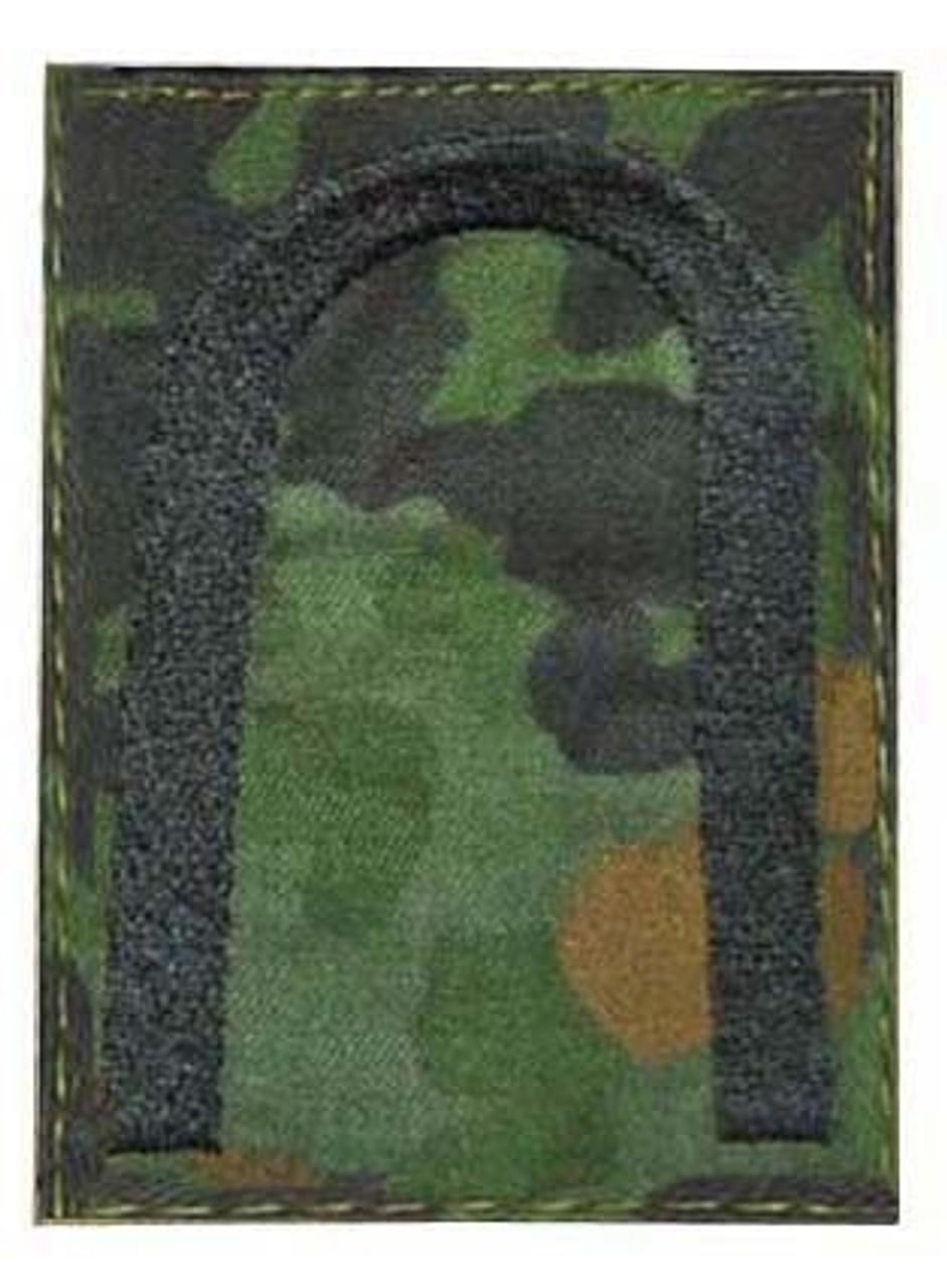 Flecktarn Rank Insignia Set With Hook Fastners from Hessen Antique