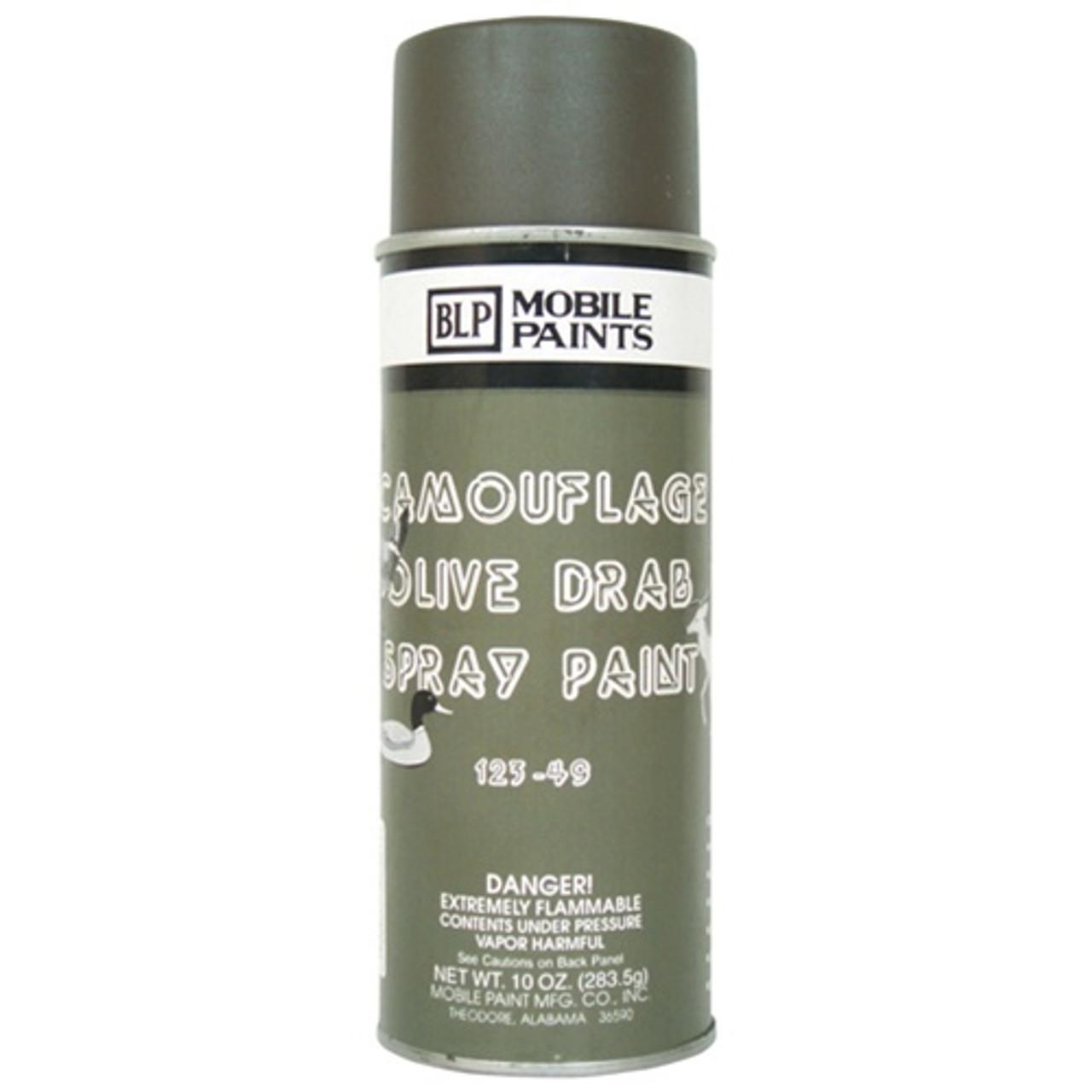 Olive Drab Spray Paint