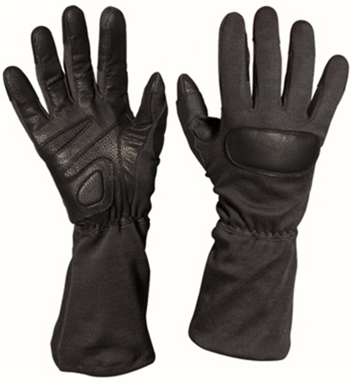 Special Forces Black Tactical Gloves from Hessen Antique