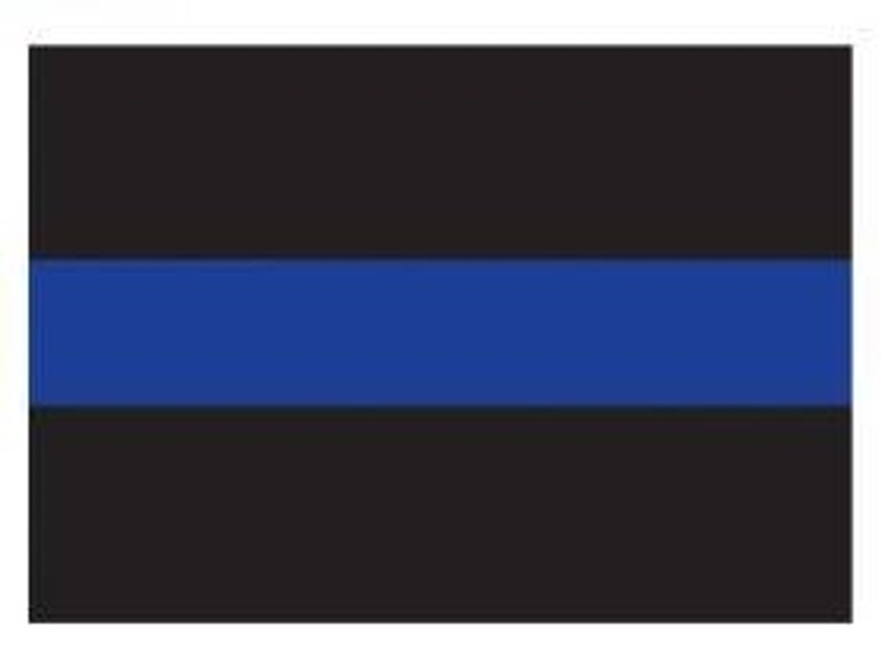 Thin Blue Line Decal from Hessen Antique